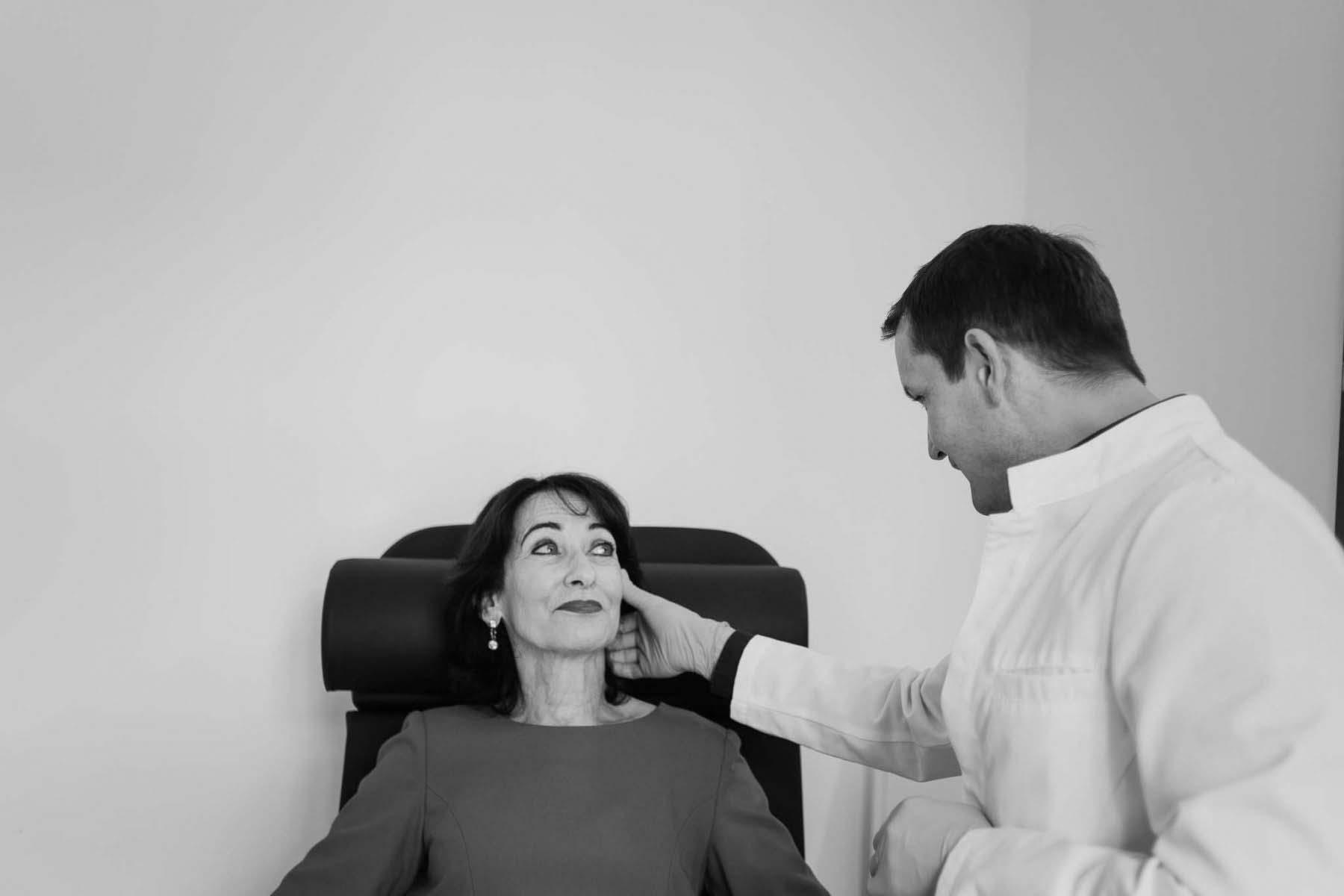Facelifting zur Gesichtsstraffung