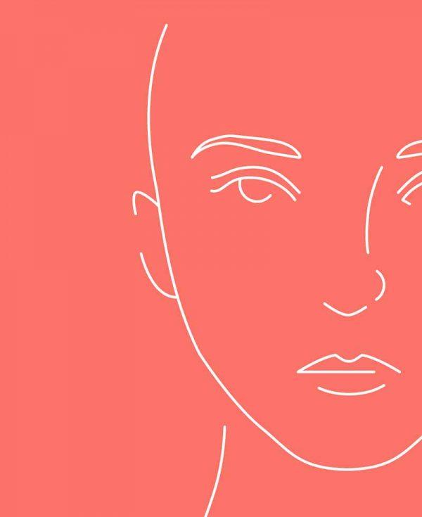 Hyaloron-Faltenbehandlung für die Frau