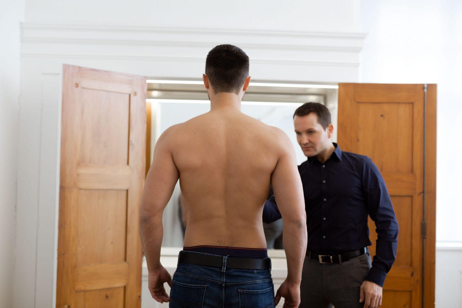 Körperformung Mann