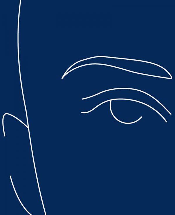 Augenlidstraffung für den Mann