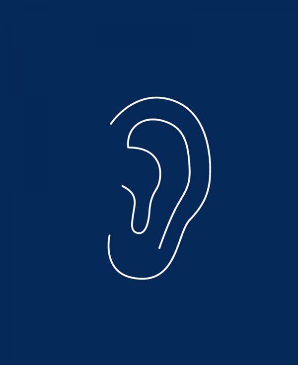 Ohrkorrektur für den Mann